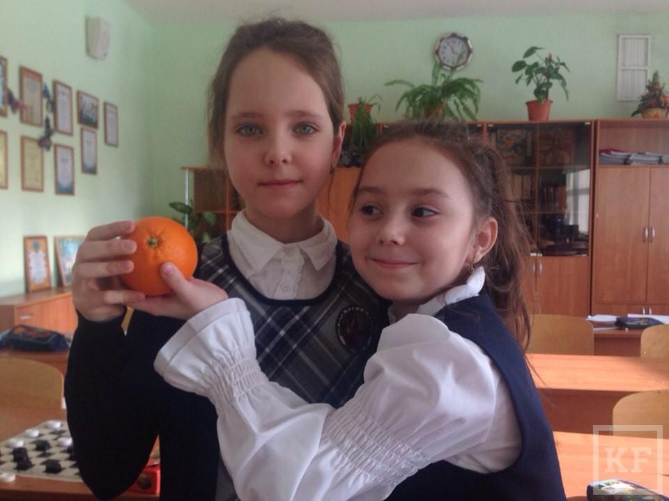 Казанские школьники проводят акцию-флешмоб «На витамин!»