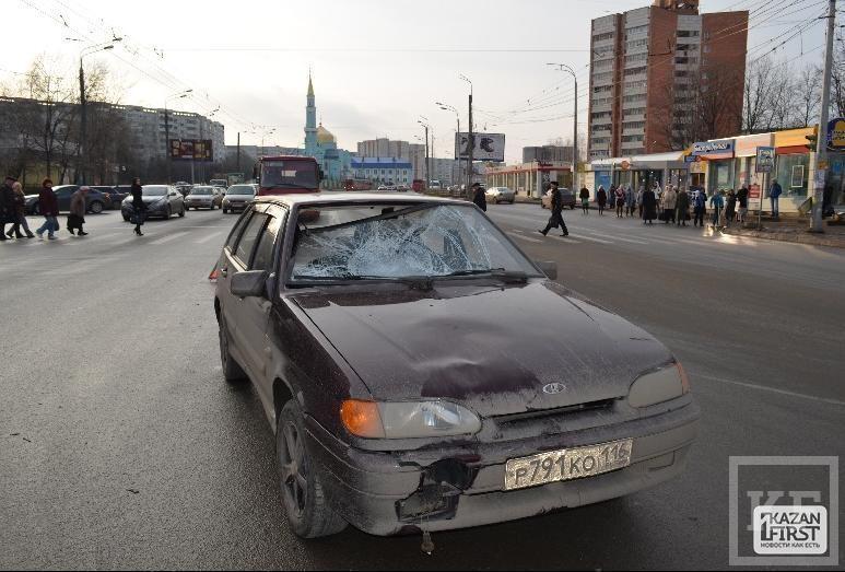 Появились подробности смертельного ДТП в 10-м микрорайоне в Казани