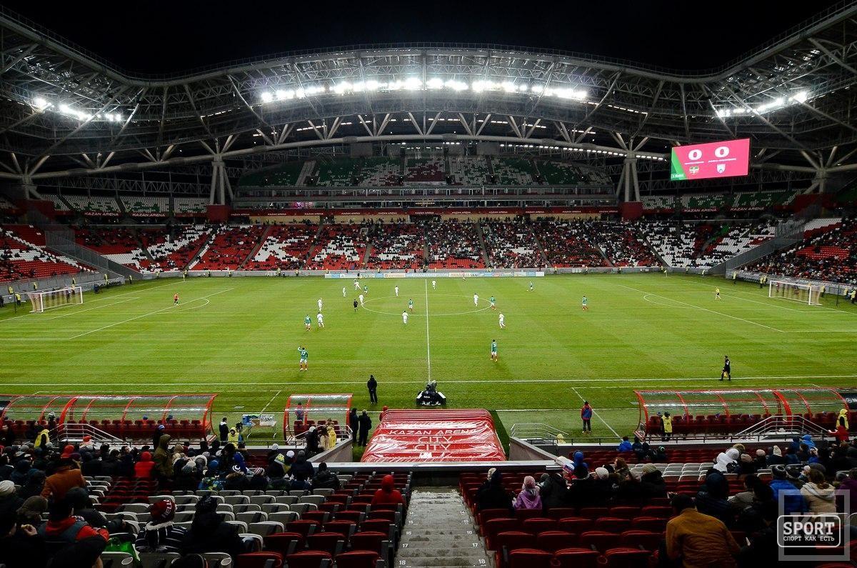 Не прошло и года. Как футбол вернулся на «Казань Арену»