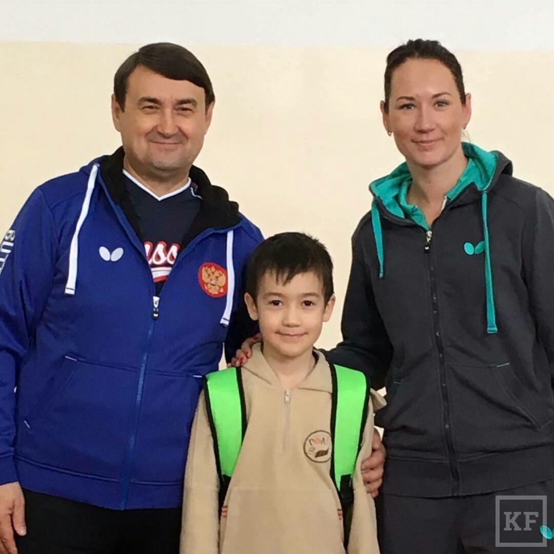 Минниханов «Вконтакте»: турнир по настольному теннису в Сабах с Левитиным