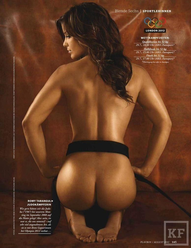 Призер Универсиады разделась для Playboy [фото]