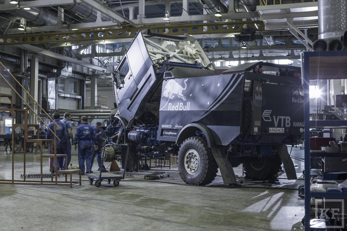 «Камаз-мастер» планирует вывести капотный грузовик на очередной «Дакар»