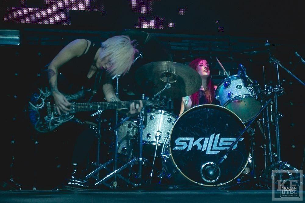 Группа Skillet в Казани