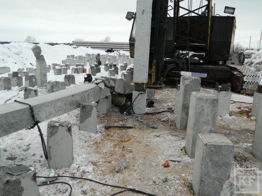 По факту гибели рабочего на стройке в Нижнекамске Следком возбудил уголовное дело
