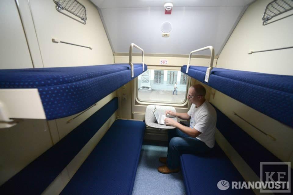 Сегодня РЖД запустила первый двухэтажный поезд в России