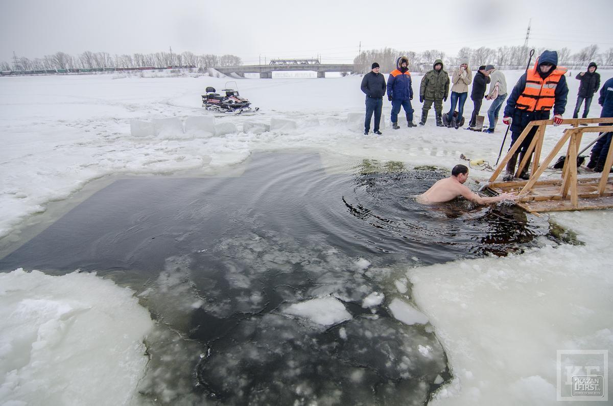 Крещенские купания прошли в Казани