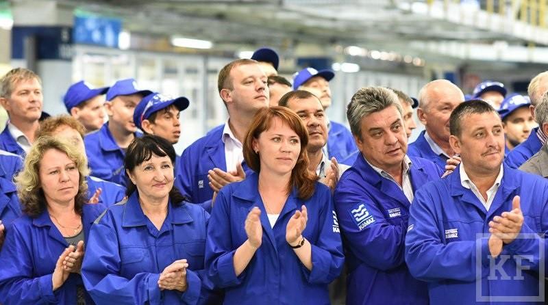 Рустам Минниханов открыл новую линию на прессово-рамном заводе ОАО «Камаз»