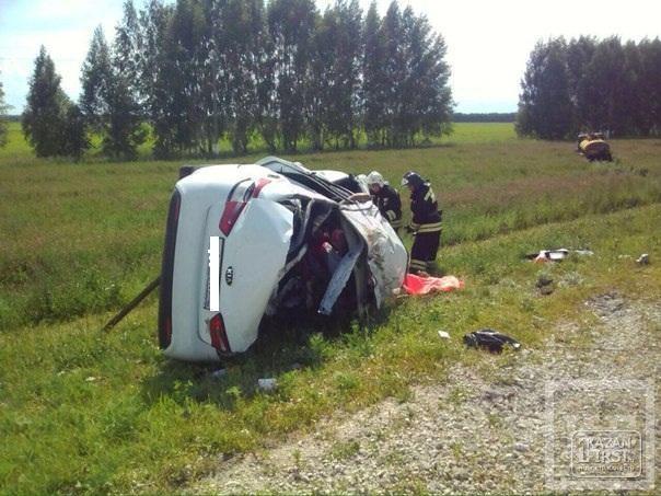 Виновником аварии с пятью погибшими на трассе Казань – Болгар был водитель Kia Rio