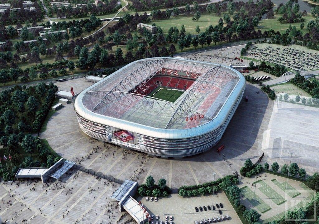 Стадионы для чемпионата мира по футболу стремительно растут в цене