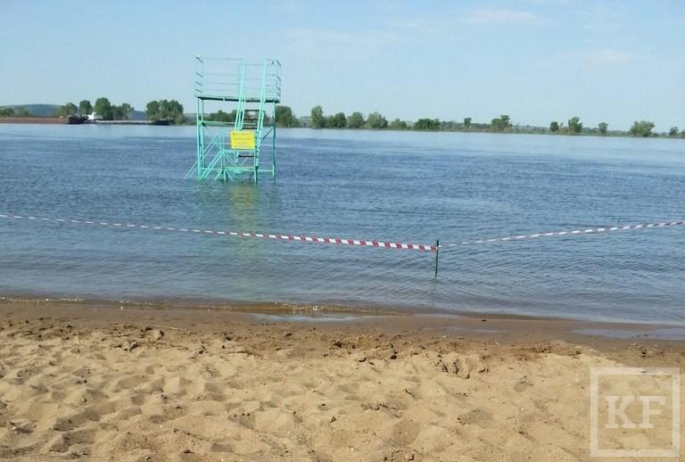 На 1 июня ни один пляж Нижнекамска не готов принимать отдыхающих
