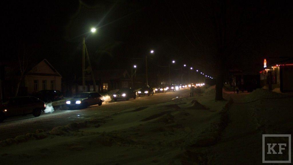 Вчера в Чистополе прошёл стихийный автомитинг