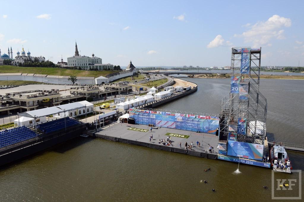 Объекты Чемпионата по водным видам спорта готовы почти на 100%
