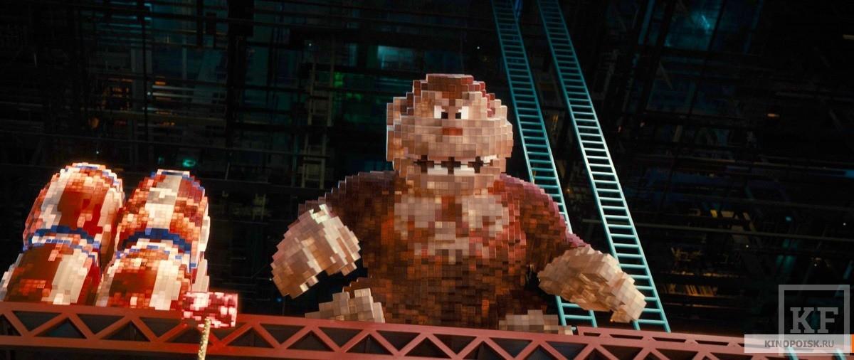 «Пиксели»: как геймеры спасают мир от Пакмана