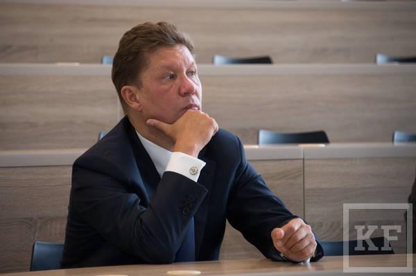 Предправления «Газпрома» Миллер посетил Иннополис