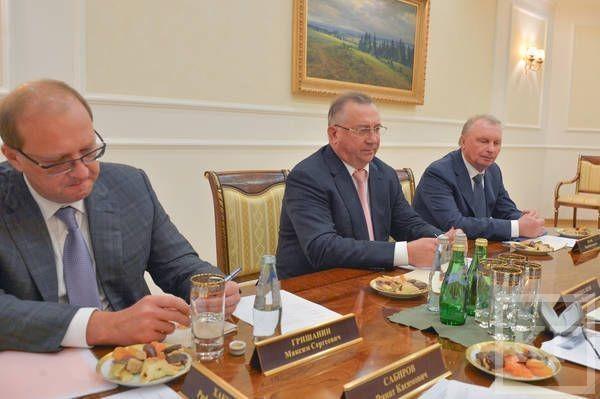 Минниханов встретился с президентом «Транснефти» Николаем Токаревым