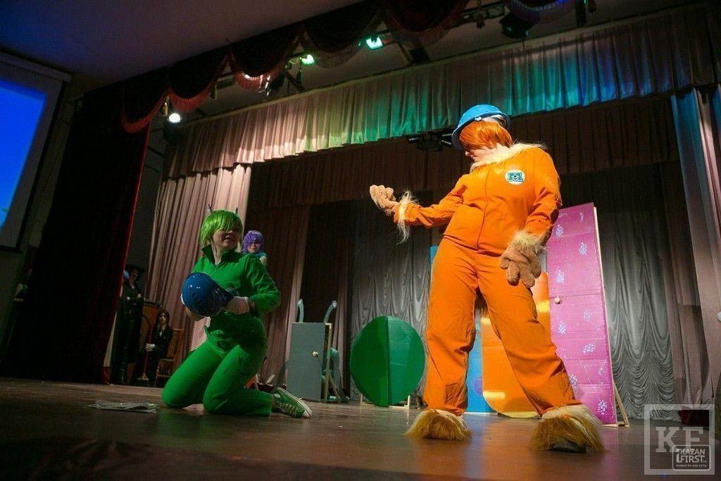 Фестиваль неформатных костюмов Parikara  прошел в Казани