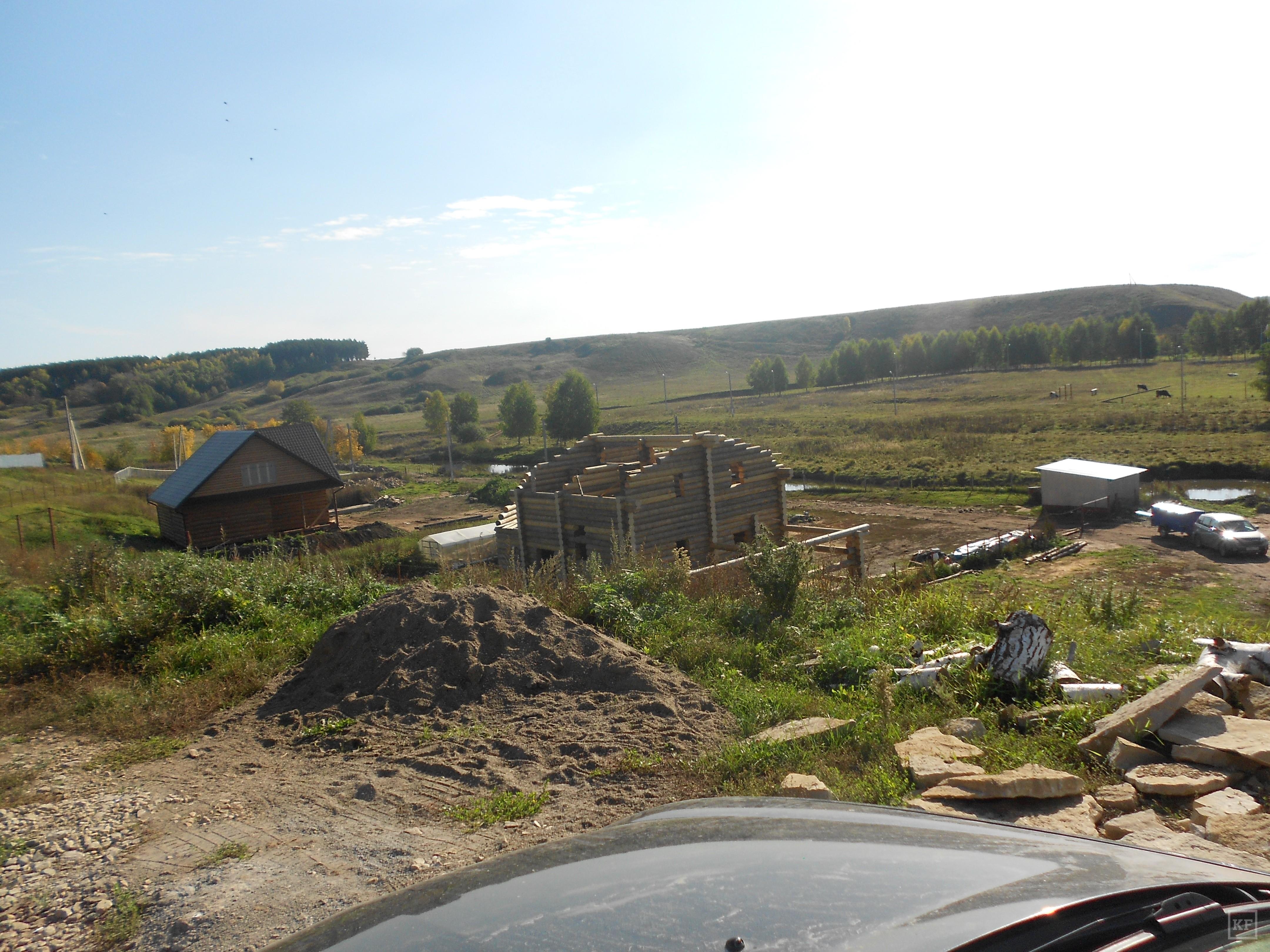 В Тукаевском районе не готовы к Году водоохранных зон. Родственники главы Малошильнинского поселения строят себе дома на берегу реки