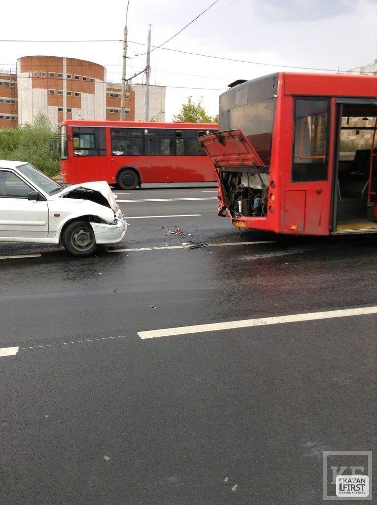 На улице Минская столкнулись
