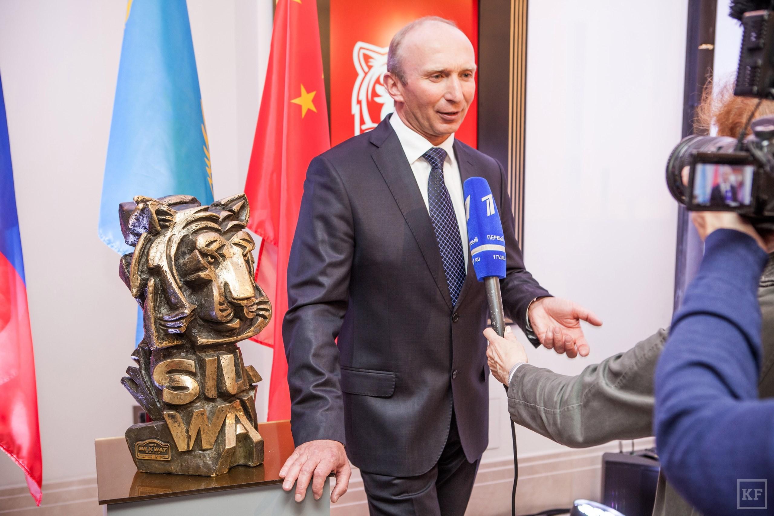 Чагин и Когогин презентовали в Москве ралли «Шелковый путь»