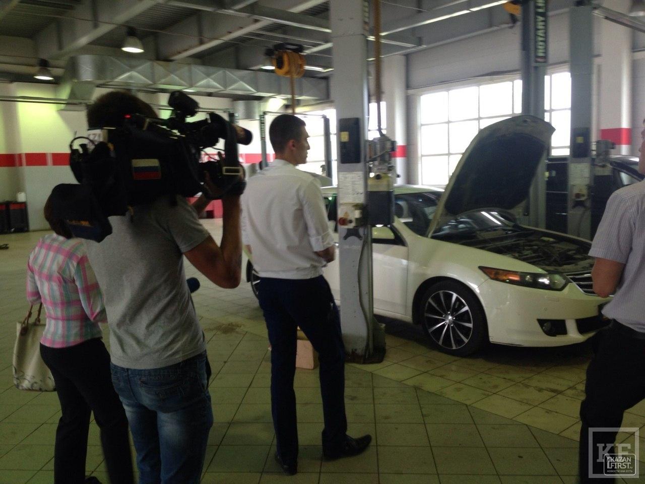 В Казани суд закрыл автосалон Honda на Космонавтов