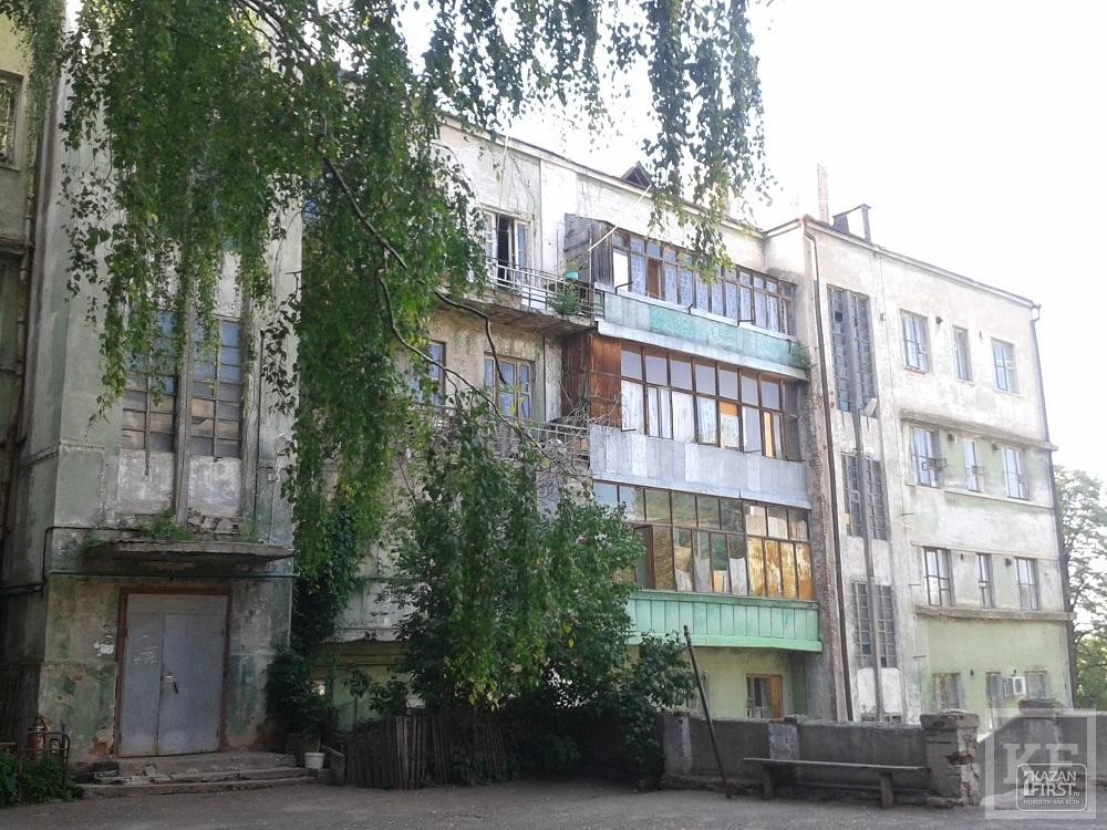 Власти Казани планируют расселить Мергасовский дом до конца года: здание ждет реставрация