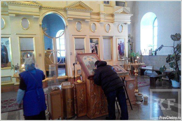 В Нижнекамск в храм Казанской иконы Божией Матери привезли мощи Матроны