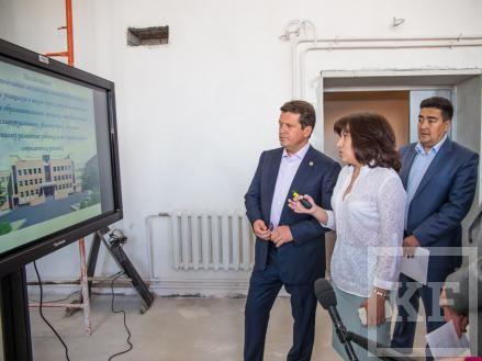 Метшин: самая большая строящаяся в Казани школа спроектирована как «Школа-город»