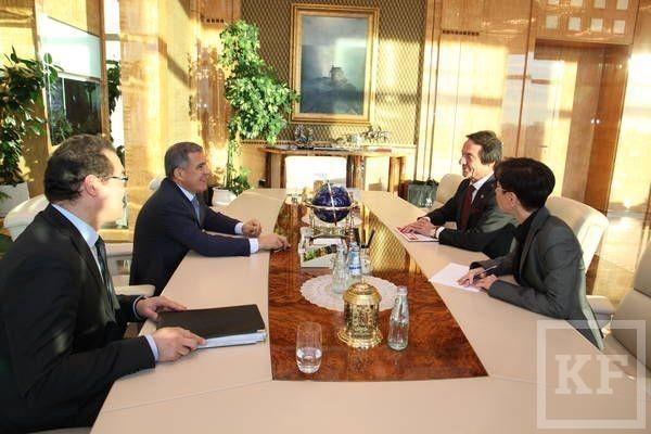 Минниханов предложил турецкой компании «Зорлу Холдинг» создать в Татарстане текстильный кластер