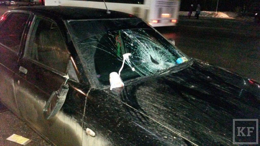 Нижнекамск: из десяти пострадавших в ДТП трое сбиты пьяным водителем