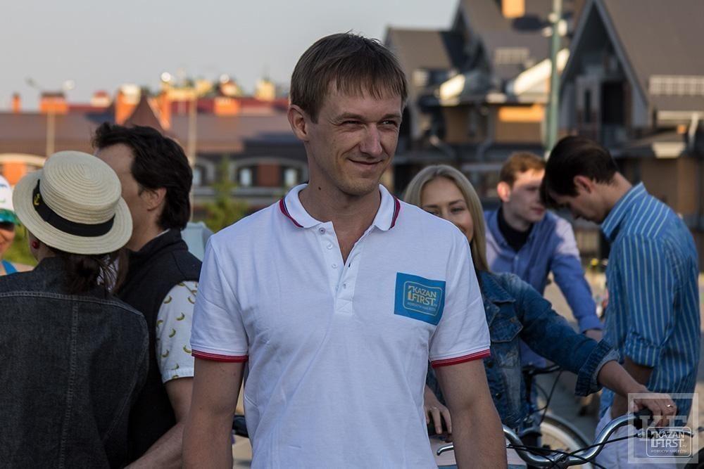 Встреча Рустама Минниханова с велосипедистами