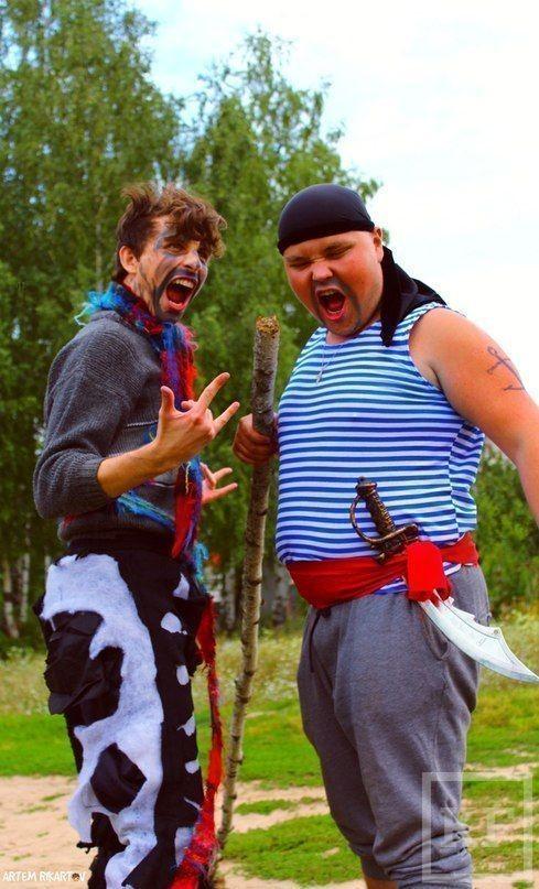 Пиратская встреча на берегу Куземетьево [фото]