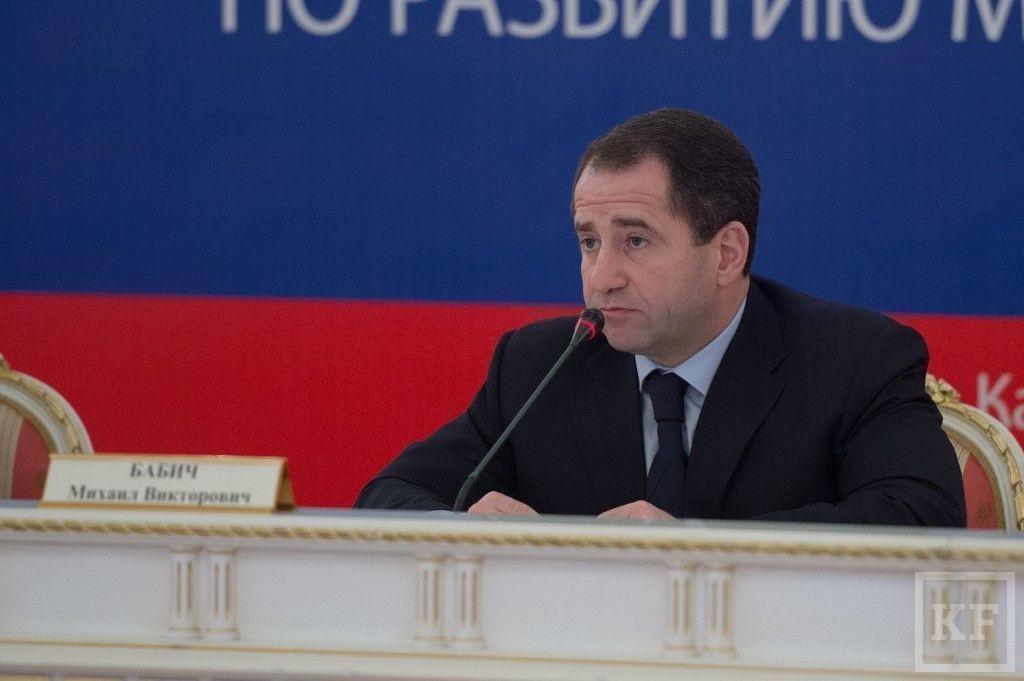 Полпред Бабич приехал в Казань поговорить о местном самоуправлении