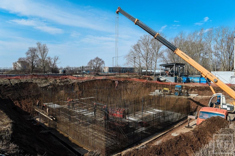 В Нижнекамске началось строительство новых установок биологических очистных сооружений