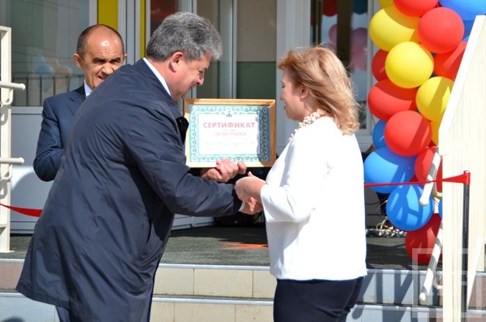 В Елабуге открылся детсад стоимостью 150 млн рублей