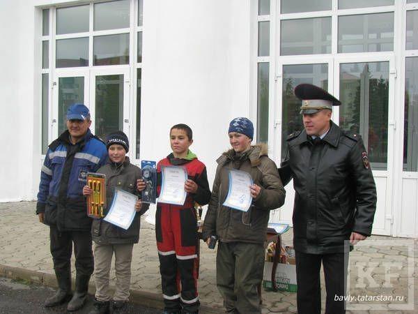 В Бавлах на соревнованиях по картингу победила лениногорская команда