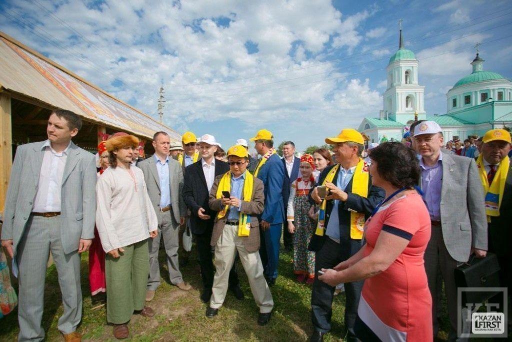 В селе Русское Никольское состоялся праздник русского фольклора «Каравон»
