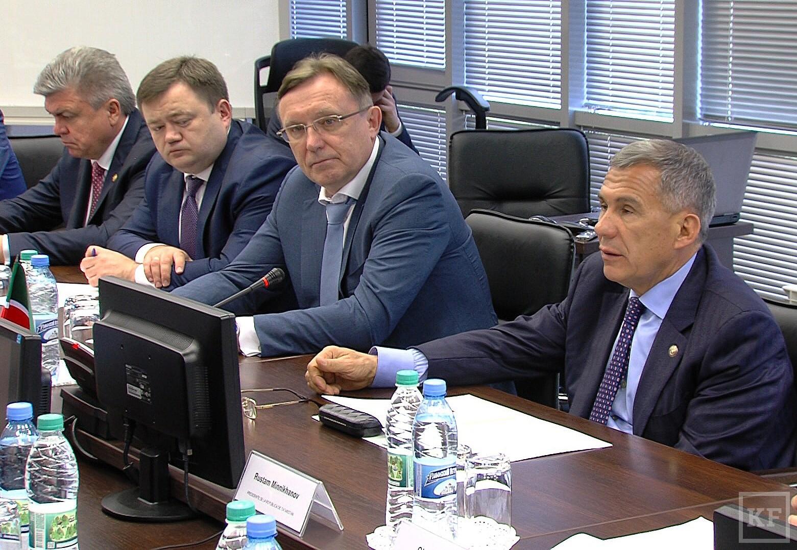 Кубинская делегация и Минниханов провели переговоры о сотрудничестве на «Камазе»