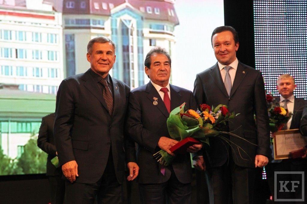 В Казани наградили победителей конкурса «Руководитель года-2013»