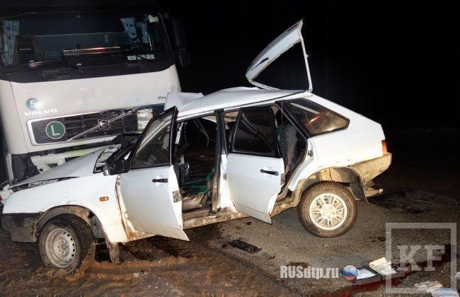 3-летняя девочка, пострадавшая в ДТП на трассе Елабуга-Пермь, скончалась в больнице