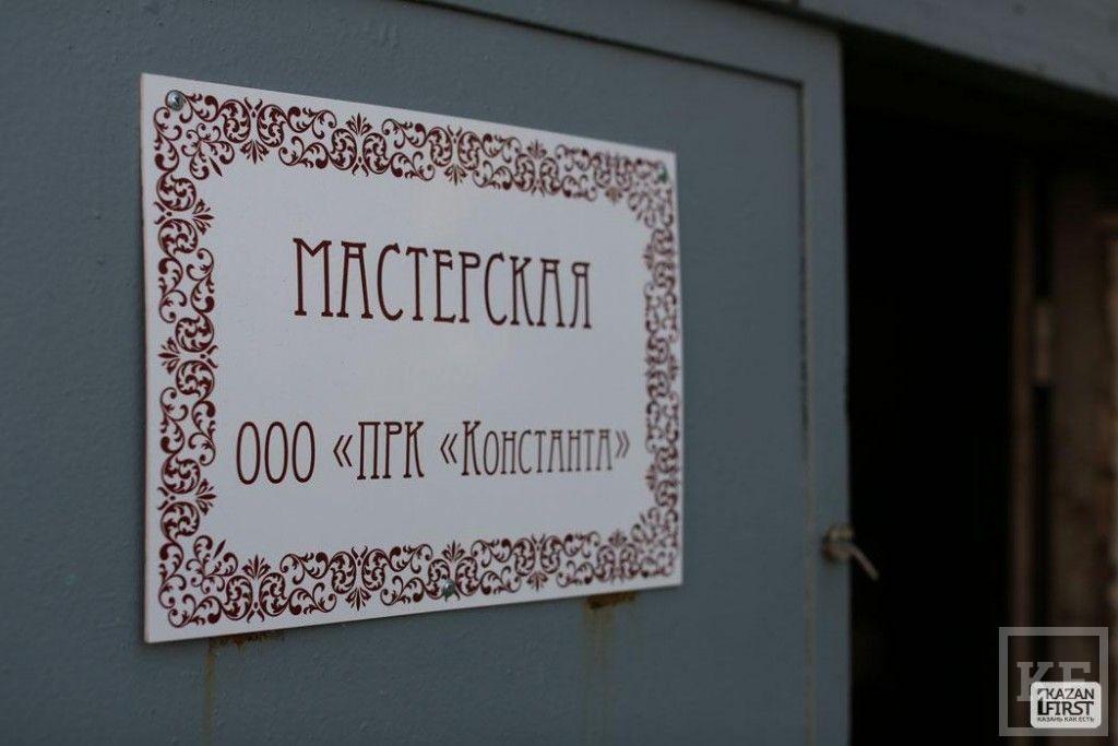 Детали надвратной церкви в Свияжске
