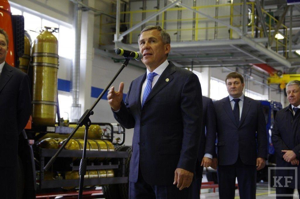Газ как национальная идея России: в Челнах открылся завод по производству газомоторных «Камазов»