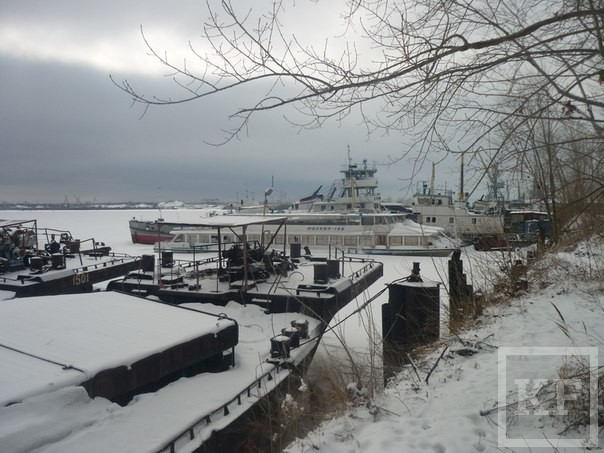 В казанском речном порту начнется расчистка. Эта территория должна стать новым деловым центром