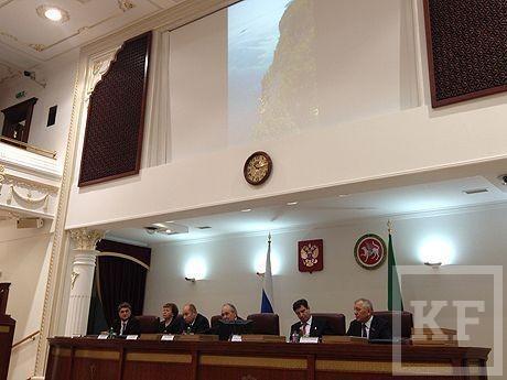 Книгу о республике Татарстан представил сегодня Минтимер Шаймиев