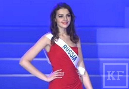 Мисс Татарстан сегодня  в Токио поборолась  за титул Miss International
