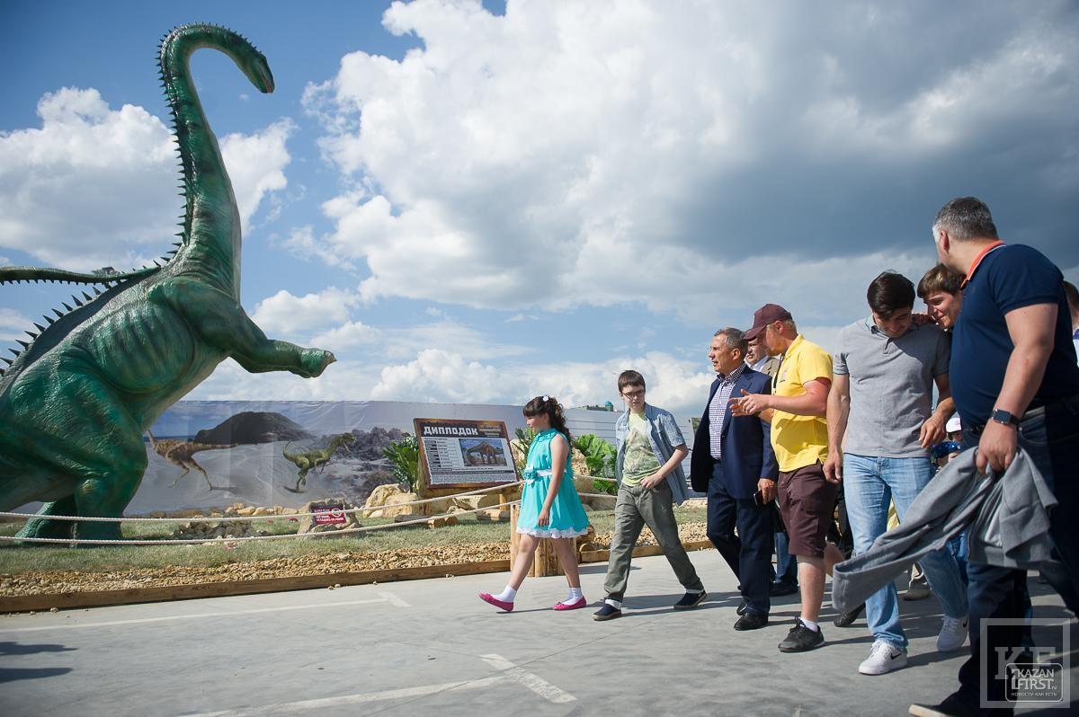 В Казани открылся «Юркин парк»