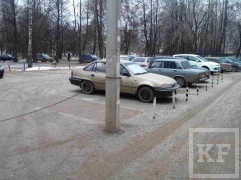 Жители одного из домов в Нижнекамске «захватили» придомовую территорию – «Народный контроль»