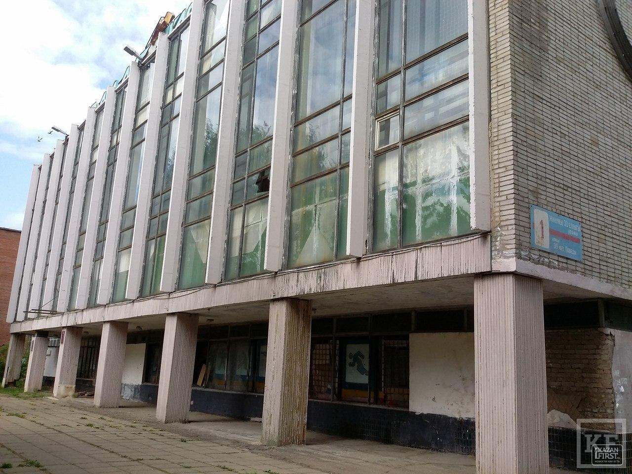 На месте бывшего спорткомплекса в Нижнекамске собираются открыть магазин
