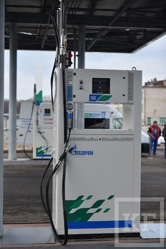 «Газпром» показал новую автомобильную газозаправочную станцию в Зеленодольске стоимостью 150 млн рублей