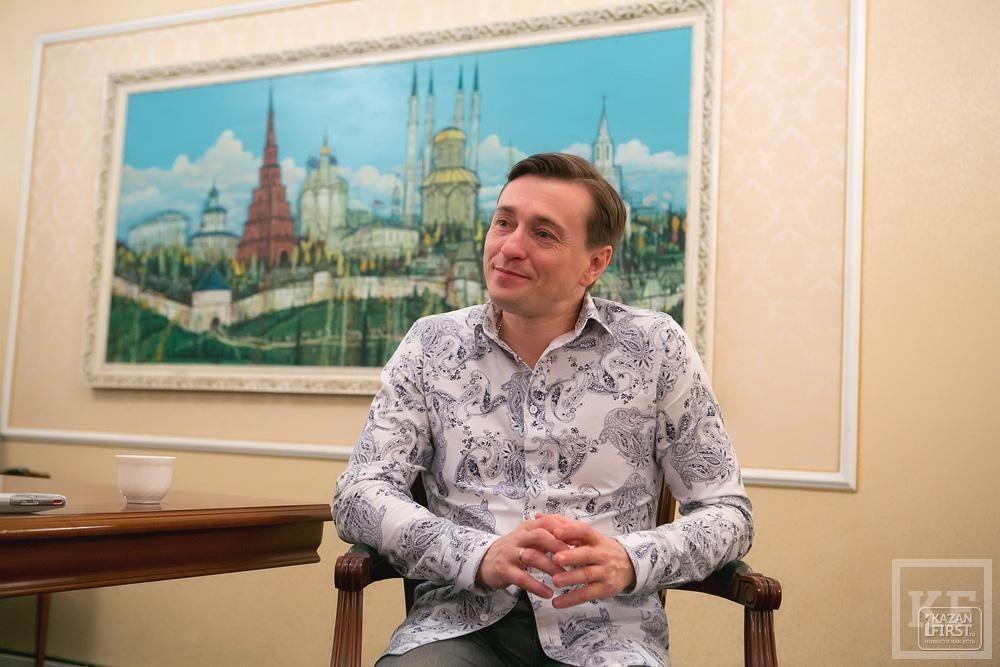 Сергей Безруков: «Казань для меня – родной город, потому что здесь Волга рядом»