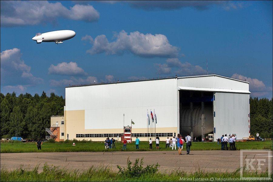 В России открылся первый дирижабледром [фото]